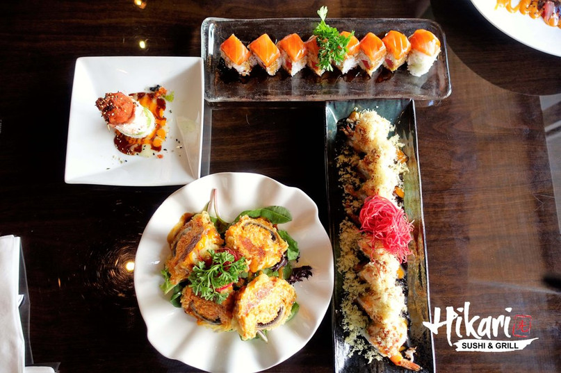 Hikari Sushi & Grill Happy Hour Japanese Restaurant in Frisco, TX 75033