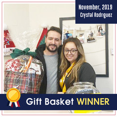 DFW dental_ Gift Basket winner_November