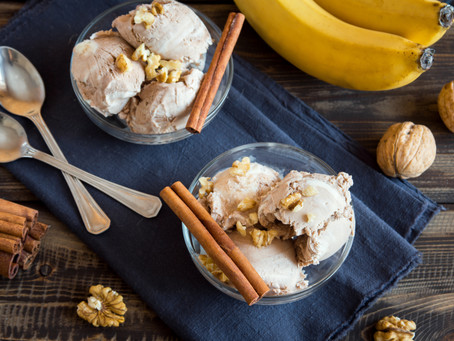 Delicious 1-Ingredient Banana Ice Cream Will Make Your Teeth (and Your Dallas, TX Dentist) Happy!