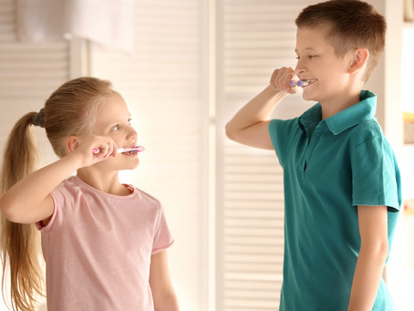 Tooth brushing Tips For Tots, From Your Dental Implants Dentist | Dallas Dental Implant Center