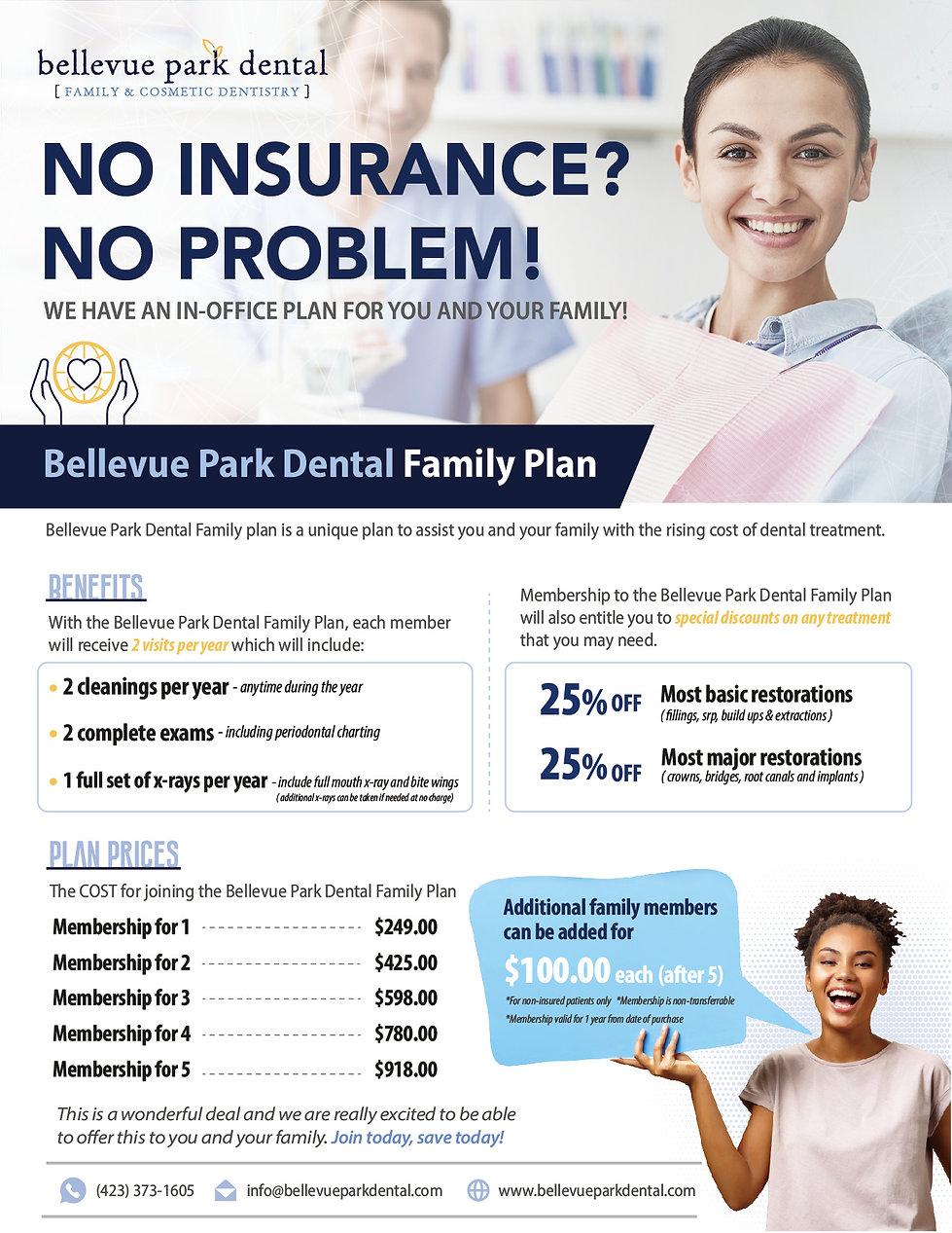 Bellevue Park Dental_Dental Membership P