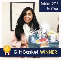DFW dental_ Gift basket winner_October 2