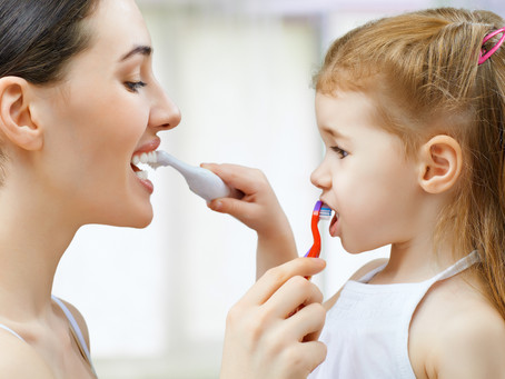 Tooth brushing Tips For Tots, From Your Family Dentist in Portland, Gresham, Happy Valley, Milwaukie