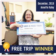 DFW dental_ Free Trip winner_December 20