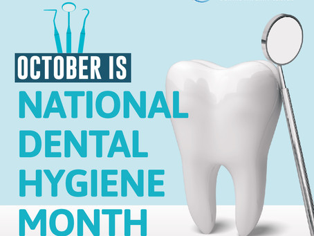 Celebrate Dental Hygiene Month With Your Dental Implant Dentist in Dallas, TX