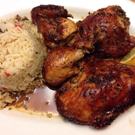 Omega Restaurant & Bakery_Athenian chicken