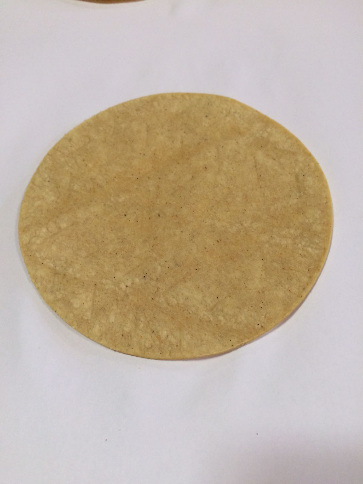 Tortilla prehispanica