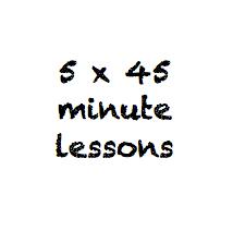 5 x 45 minute class pass