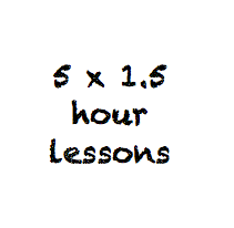 5 x 1.5 hour lessons
