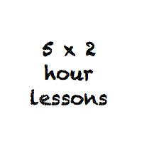5 x 2 hour class pass