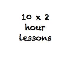 10 x 2 hour class pass