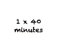 40 minute lesson