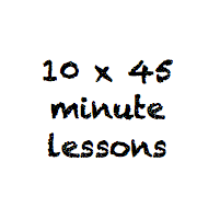 10 x 45 minute lessons
