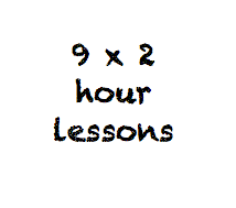 9 x 2 hour lessons