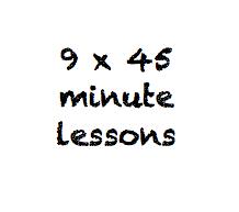 9 x 45 minute class pass