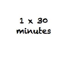 30 Minute Lesson