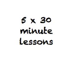 5 x 30 minute class pass