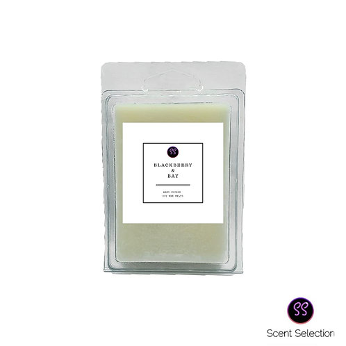 Blackberry & Bay Scented Soy Wax Melts