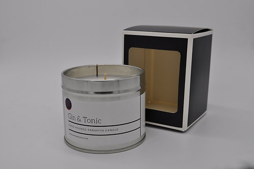 Gin & Tonic Scented Paraffin Candle