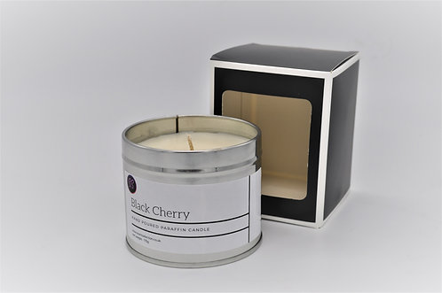 Black Cherry Scented Paraffin Wax Candle