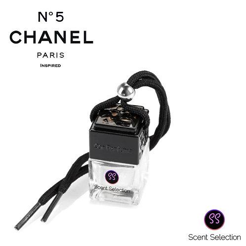 No5 Inspired Car Air Freshener