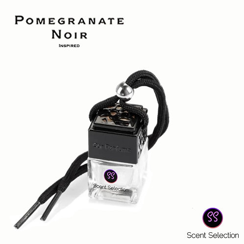 Black Pomegranate Inspired Car Air Freshener