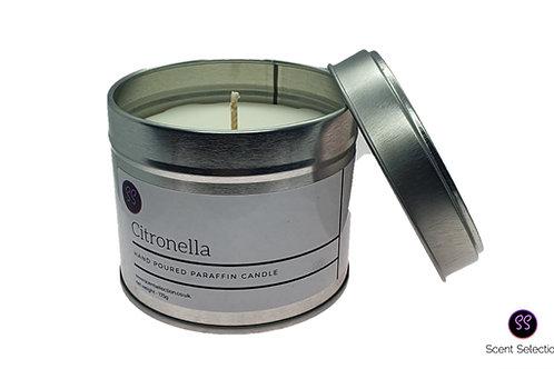 Citronella Essential Oil Scented Paraffin Wax Candle