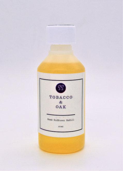 Tobacco & Oak Reed Diffuser Refill 100ml