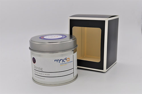 Strong - Indian Rose & Musk MNDA Charity Candle