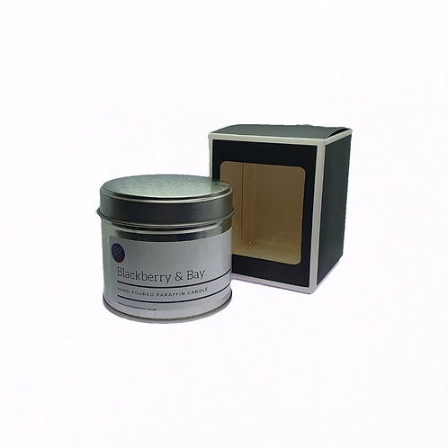 Blackberry & Bay Scented Paraffin Candle
