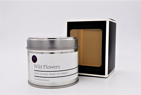 Wild Flowers Spring Scented Candle