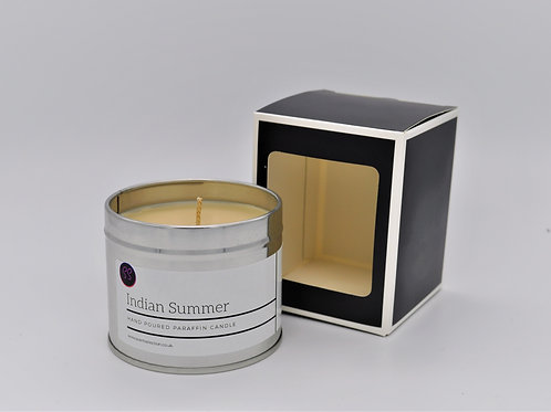 Indian Summer Scented Paraffin Candle