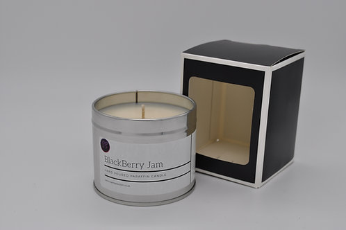 Blackberry Jam Scented Paraffin Candle