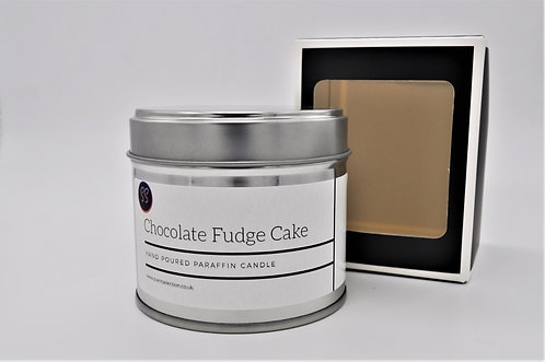 Chocolate Fudge Cake Scented Paraffin Candle