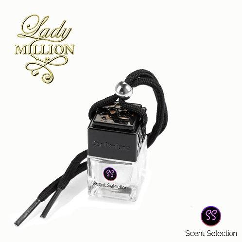 Lady Million Inspired Car Air Freshener