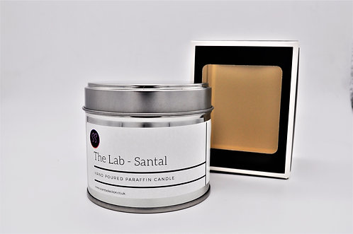 The Lab - Santal Inspired Scented Paraffin Candle