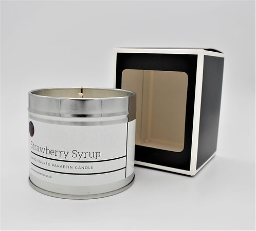 Strawberry Syrup Scented Paraffin Candle