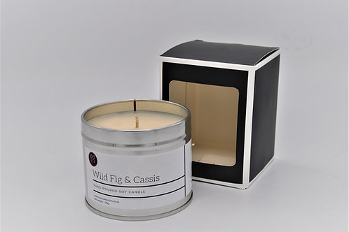 Wild Fig & Cassis Scented Soy Wax Candle