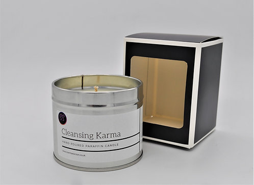 Cleansing Karma Scented Paraffin Candle