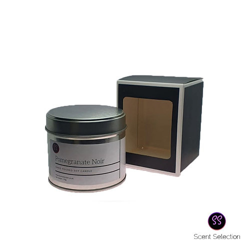Pomegranate Noir Scented Soy Wax Candle