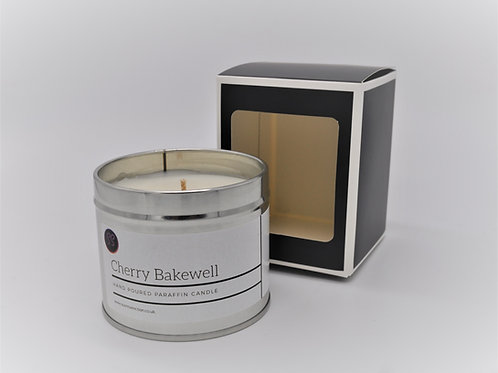 Cherry Bakewell Scented Paraffin Candle