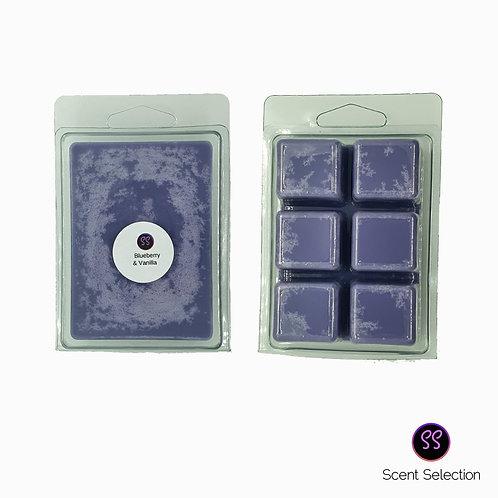 Blueberry & Vanilla Wax Melts