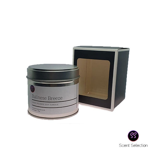 Balinese Breeze Scented Soy Wax Candle