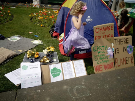 Protesting With Young Kids...Making spaces for those with young children (or other challenges)...