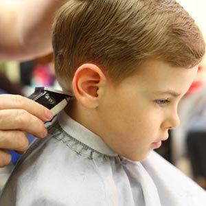 Hair Cut Age 0-2yrs