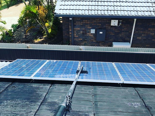 Solar Panel Cleaning Gold Coast
