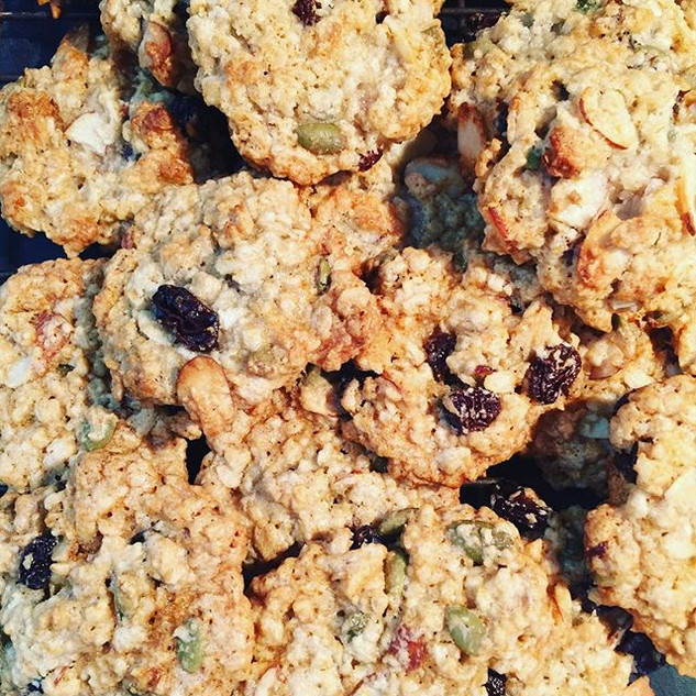 #breakfast #cookies #organic #raw #pumpk