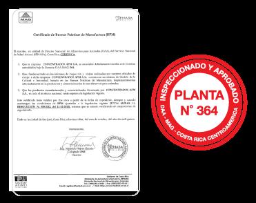 Certificado de Exportación