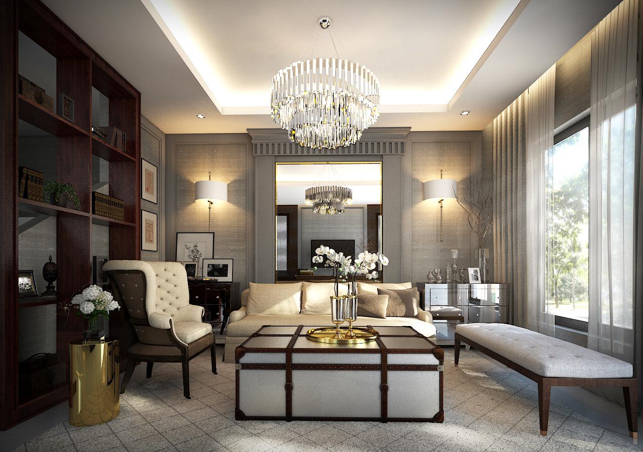 Twin House Orkide Villa Fl1 living
