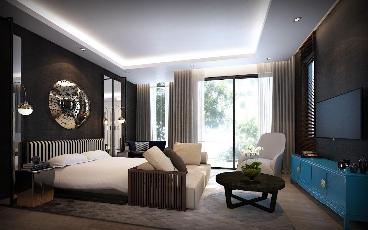 Link House Orkide Villa Fl2 bedroom draft4